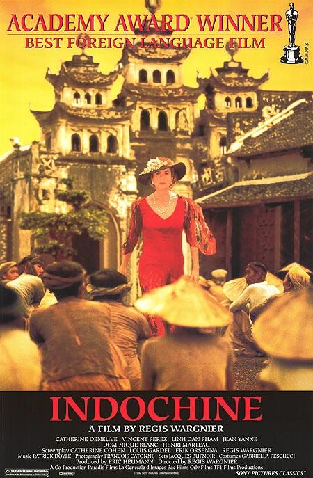 Poster phim Đông Dương sản xuất năm 1992.