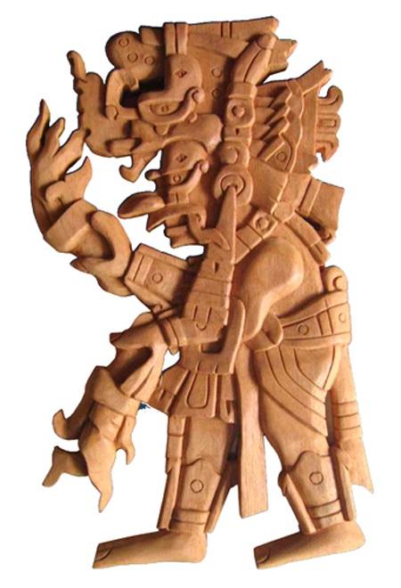 Vị thần mưa Chaak trong văn hóa của người Maya là vị thần được hiến tế người nhiều nhất.