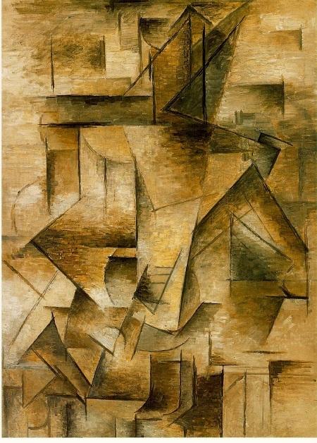 """Bức """"Le Guitariste"""" của Pablo Picasso (vẽ năm 1910)"""