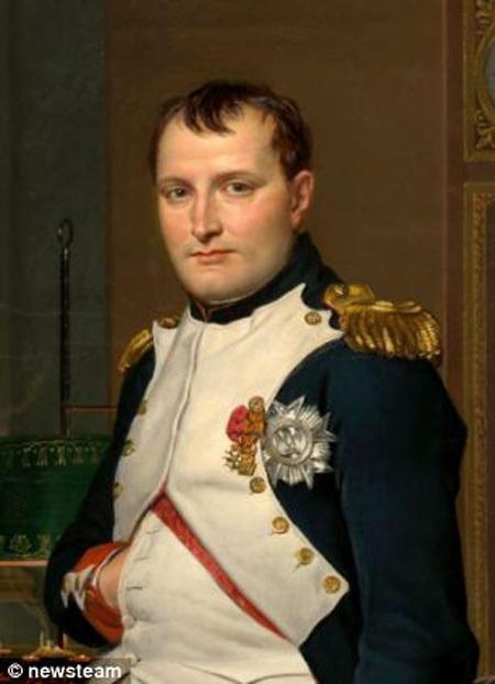 Chân dung hoàng đế Pháp Napoleon Bonaparte