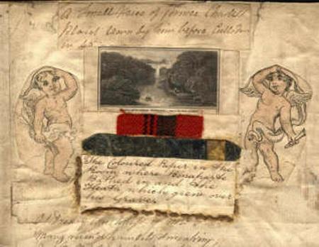 Mẫu giấy dán tường có sử dụng loại sơn chết người trong phòng của hoàng đế Napoleon.