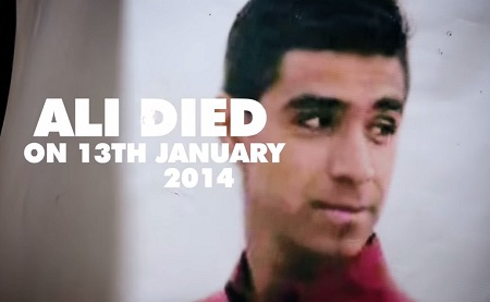 Bạn của Salam - Ali Nouri - đã qua đời trong một vụ đánh bom xe buýt.