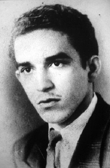 Chàng thanh niên Gabriel Garcia Marquez.