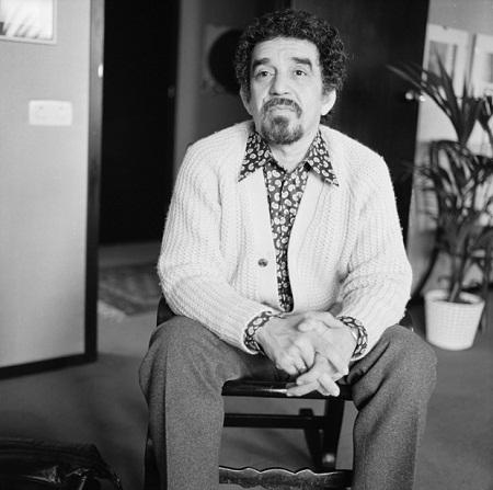 Gabriel Garcia Marquez năm 1972 (45 tuổi).