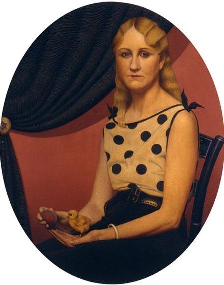 """Bức """"Portrait of Nan""""."""