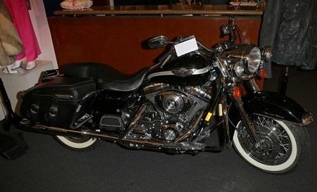 Chiếc xe mô tô đời cổ của nam diễn viên David Hasselhoff.