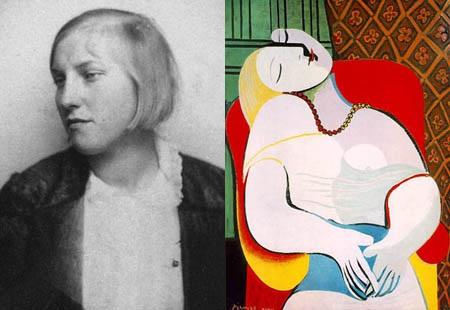 """Đối với Picasso, Marie-Thérèse Walter là """"người tình vĩ đại nhất""""."""