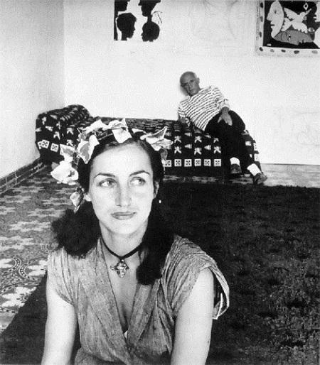 Francoise Gilot và Picasso