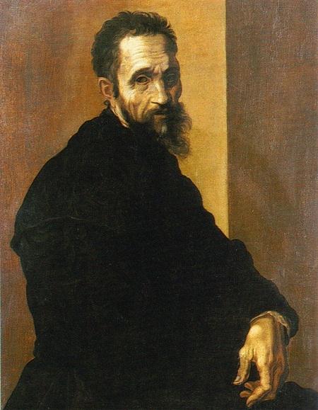 Chân dung tự họa của thiên tài hội họa - điêu khắc Michelangelo (1475-1564)