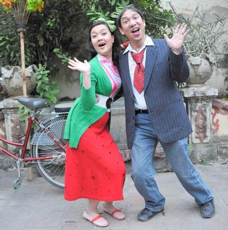 Cặp đôi ăn ý Vân Dung và Quang Thắng