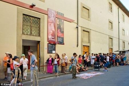 Viện bảo tàng nghệ thuật Galleria dell'Accademia - nơi bức tượng David đang được trưng bày