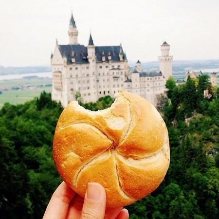 Bánh mì tròn của Đức.