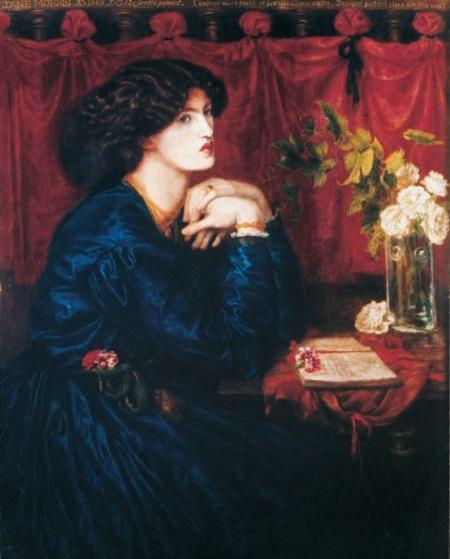 """Bức """"Váy lụa xanh"""" (1868) của Rossetti."""