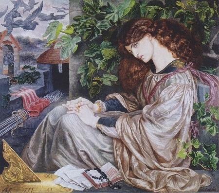 """Bức """"La Pia de' Tolomei"""" (1866-1870) của Rossetti"""