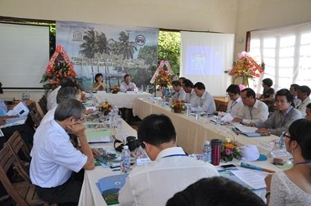 Hội thảo khoa học đánh giá tác động môi trường tại khu dự trữ sinh quyển Thế giới Cù Lao Chàm.