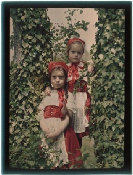 Những bức ảnh màu đầu tiên trong lịch sử