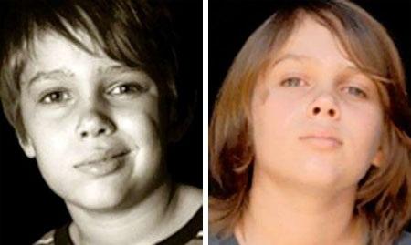 """Cậu bé Ellar Coltrane và nam diễn viên Ethan Hawke vào vai hai cha con trong bộ phim """"Boyhood""""."""