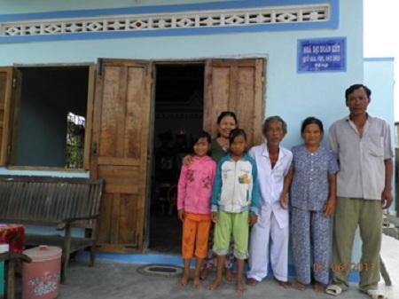 Nhà Đoàn kết - một trong những dự án nhận được tài trợ của Vifi e.V