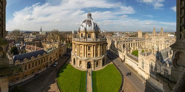 ĐH Oxford xếp thứ 6.