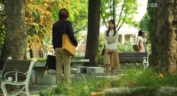 Hai diễn viên chính Jang Geun Suk và Yoon Ah ghi hình tại nhiều góc quay cực lãng mạn và ấn tượng tại Đại học Keimyung.