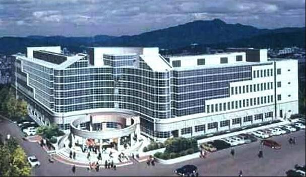 Khuôn viên là Viện Khoa học và Công nghệ tiên tiến Hàn Quốc – KAIST.