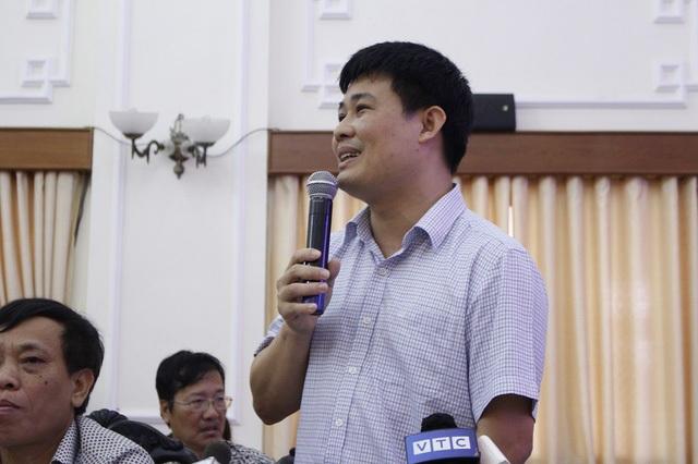 Ông Sái Công Hồng, Phó Cục trưởng Quản lý chất lượng – Bộ GD&ĐT giải thích băn khoăn về độ khó của đề Toán đang gây nhiều tranh luận.