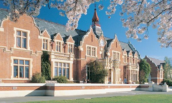 Khuôn viên trường Đại học Lincoln tiện nghi với lối kiến trúc mở.