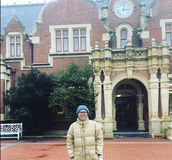 Gia Bảo – du học sinh Việt tại trường Đại học Lincoln, thành phố Christchurch.