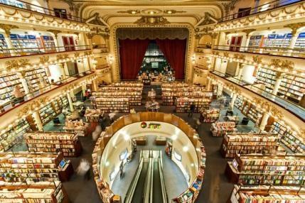 Hiệu sách El Ateneo Grand Splendid. (Ảnh: Alamy)