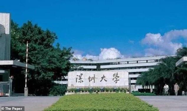 Đại học Shenzhen, thành phố Thâm Quyến, Trung Quốc.
