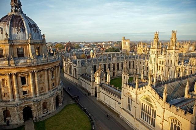 Khuôn viên Đại học Oxford.