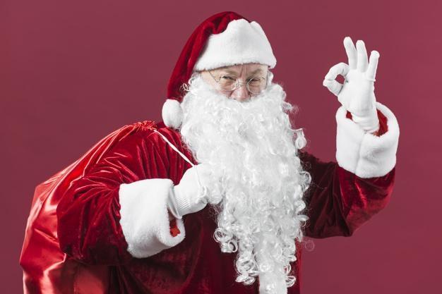 Ông già Noel (Ảnh: Freepik).
