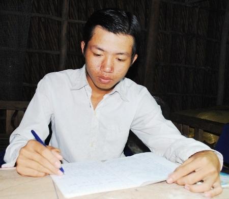 Em Phạm Chí Nguyễn vừa được giải oan tội hiếp dâm trẻ em.