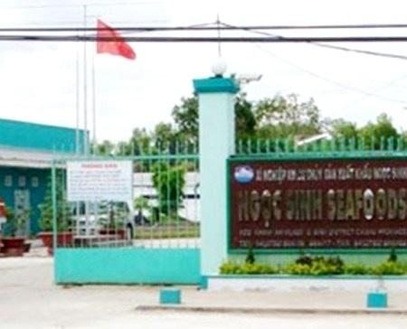 Trụ sở Công ty Ngọc Sinh tại huyện U Minh, Cà Mau.