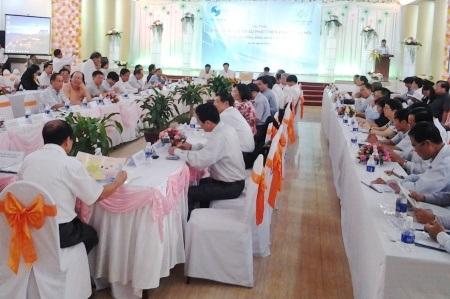 Hội nghị quản lý Sở hữu trí tuệ toàn quốc ngày 30- 31/10 tại Bạc Liêu. (Ảnh: Huỳnh Hải)