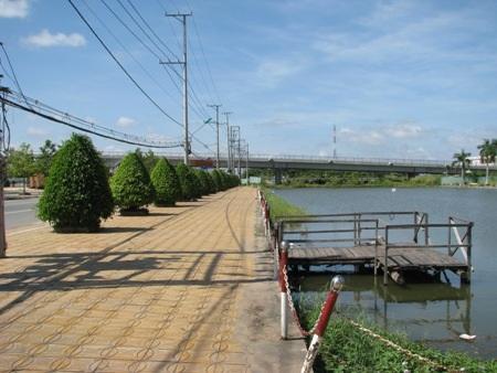 Cầu Giá Rai đã hoàn thành rất hoành tráng, đẹp mắt.