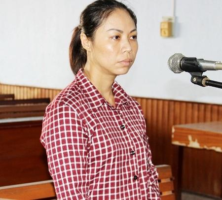 Bị cáo Nhâm Nguyễn Khánh Trang.