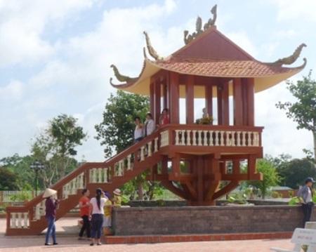 Thiền viện Trúc Lâm Phương Nam. (Ảnh: Nguyễn Hành)
