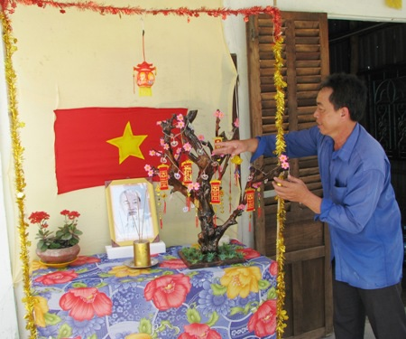 Rực sắc mai vàng ở huyện U Minh, Cà Mau.