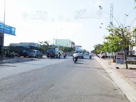 Tuyến đường Ninh Bình rộng 24m, dài hơn 1km...