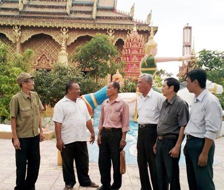 Ông Lâm Nuôl bồi hồi nhớ lại thời khắc lịch sử giải phóng tỉnh Cà Mau 40 năm về trước.