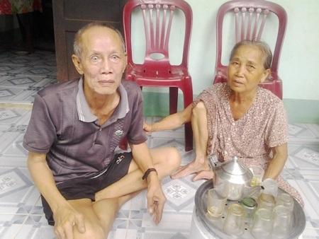 Nhờ có sự hỗ trợ của bạn đọc Dân trí, bà Thai có điều kiện chăm lo cho chồng con.
