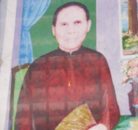 Bà Lê Thị Sảnh (má Tư)- người đã gửi tặng Bác Hồ cây vú sữa vào năm 1954.