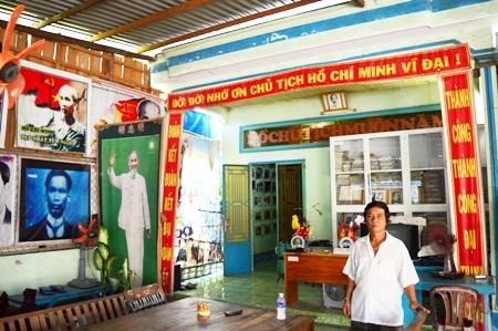 Thư viện Bác Hồ của anh Nguyễn Văn Nhung.
