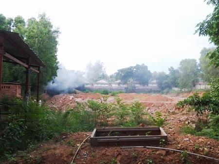 Dự án 9 năm của Công ty Hải Lưu nay chỉ là bãi đất trống.