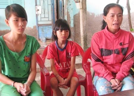 3 mẹ con chị Thắm nhận được nhiều sự quan tâm của bạn đọc Dân trí.