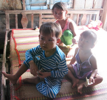 3 cháu bé đã nhận được sự quan tâm của đông đảo bạn đọc Dân trí.