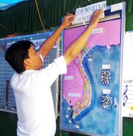 Nhiều trường quan tâm dạy về chủ quyền lãnh thổ, biển đảo Việt Nam.