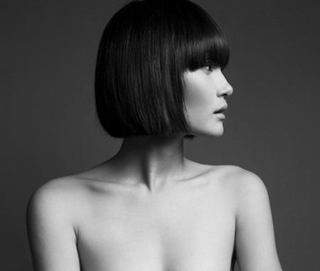 Thùy Trang tại cuộc thi VietnamNext Top Model năm 2011