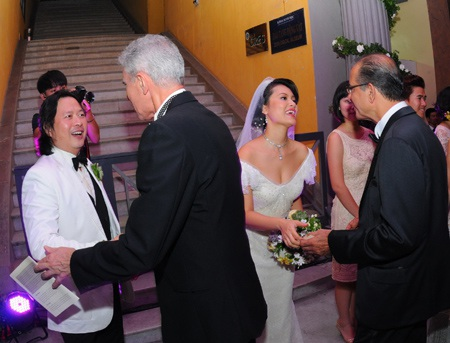 Đỗ Hải Yến đã có một tiệc cưới đặc biệt tại Hà Nội.